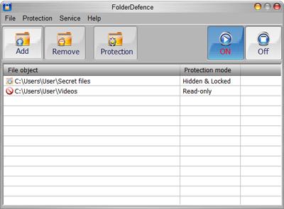 FolderDefence Pro v1.0.0.35:Hỗ trợ đặt pass bảo vệ cho ổ cứng  14FolderDefencePro400