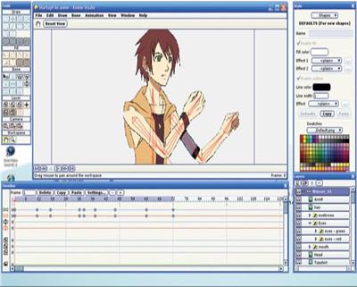 Anime Studio Pro 5.6 - Làm phim hoạt hình 2D chuyên nghiệp 4AnimeStudio400