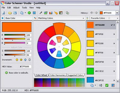 Color Schemer Studio 1.5 16ColorSchemer400