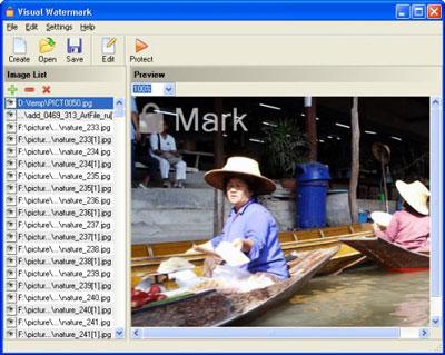 Visual Watermark 2.1 - đóng dâu bản quyền lên hình ảnh 18visual-watermark400