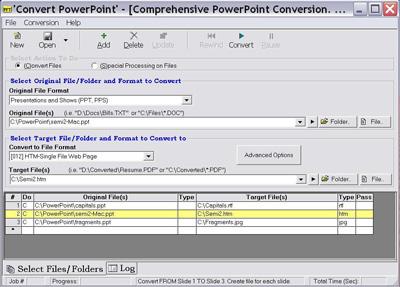 Convert PowerPoint