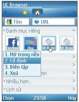 UC Browser Java (Tiếng Việt) 9 5 0 499 - Lướt web nhanh trên
