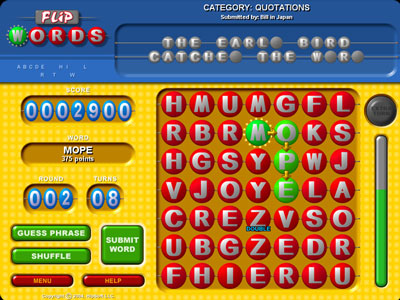 Free Downloadable Laptop Games on Flip Words 2 1 1   Free Download  Software   Games   Laptop Driver