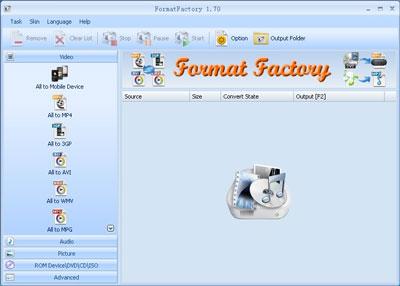Format Factory2.20 Phần Mềm Chuyển đổi Đuôi Video, Audio, Cắt nhạc miễn Phí FormatFactory_l