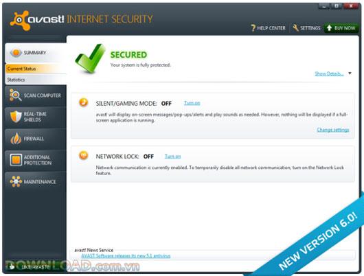 avast! Internet Security