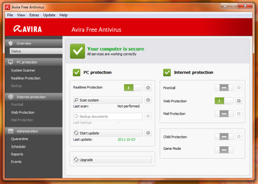 Www Avira Antivirus 2010 Download Free Com