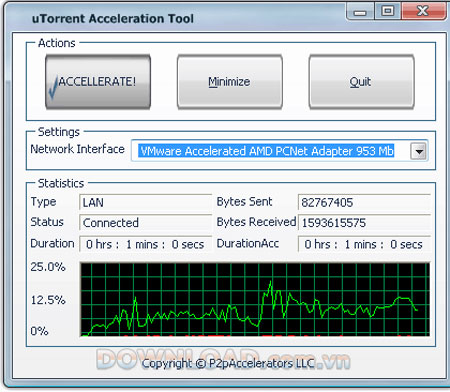 µTorrent Acceleration Tool