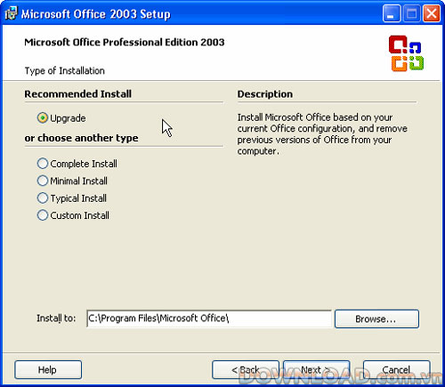 Microsoft Office 2003 Service Pack 1