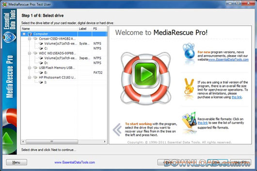 Digital MediaRescue Professional